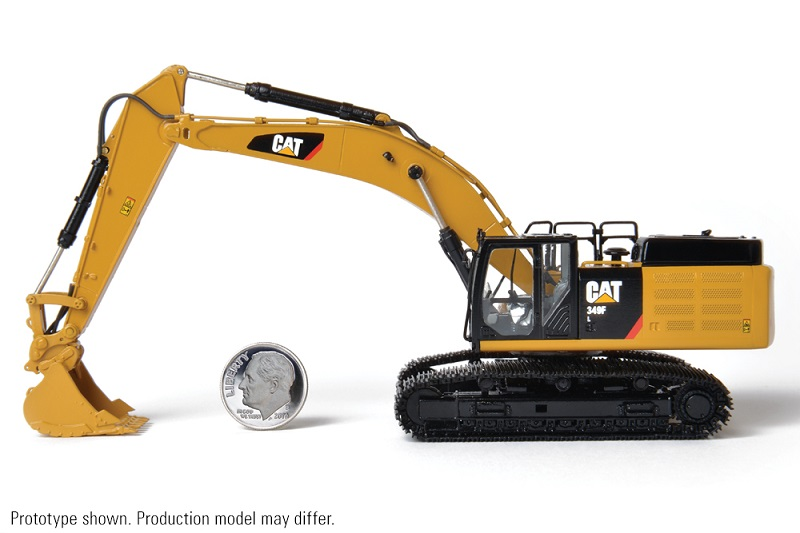 CCM CAT 349F L Excavator / Brass 1:87