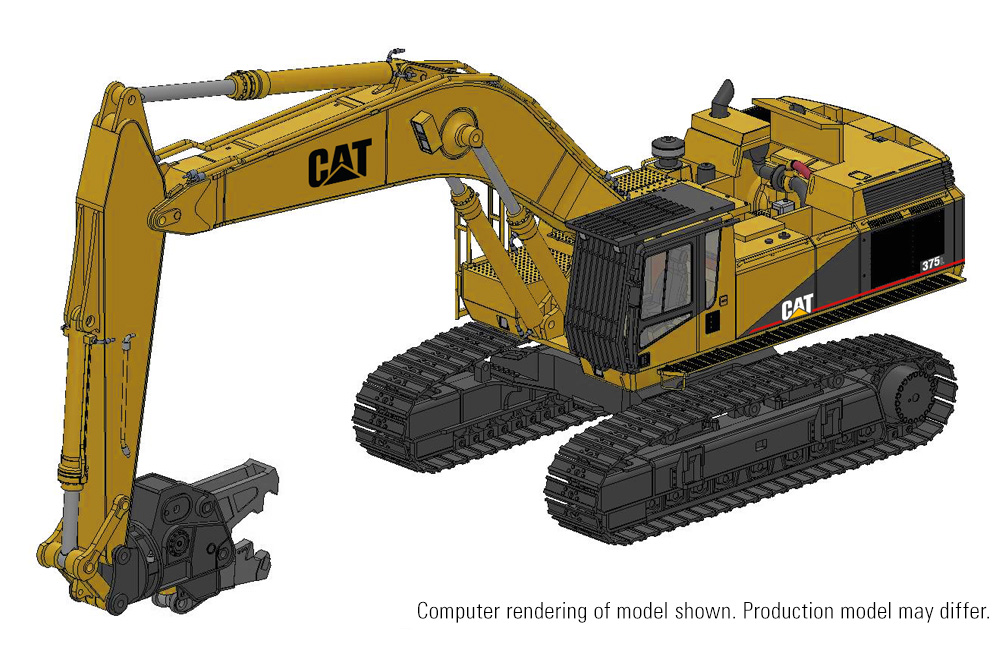 Deposit CCM CAT 375L Demolition Excavator 1:48