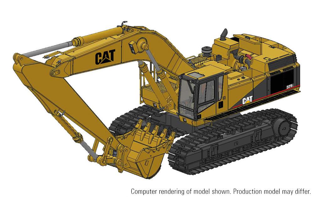 Deposit CCM CAT 375L Hydraulic Excavator 1:48