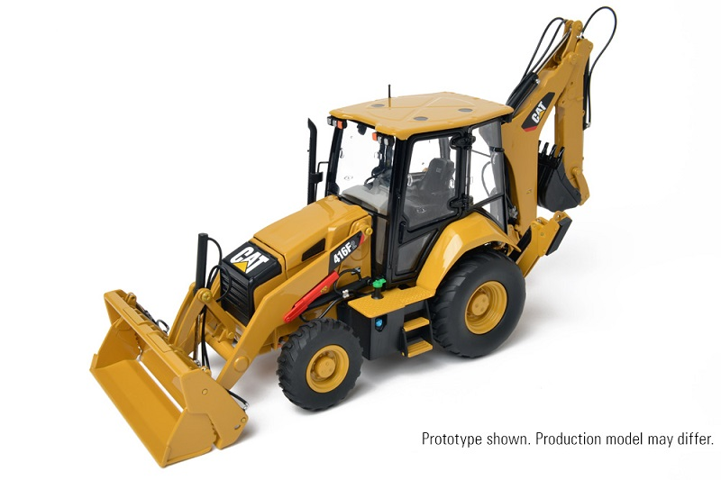 CCM CAT 416F2 Backhoe Loader 1:24