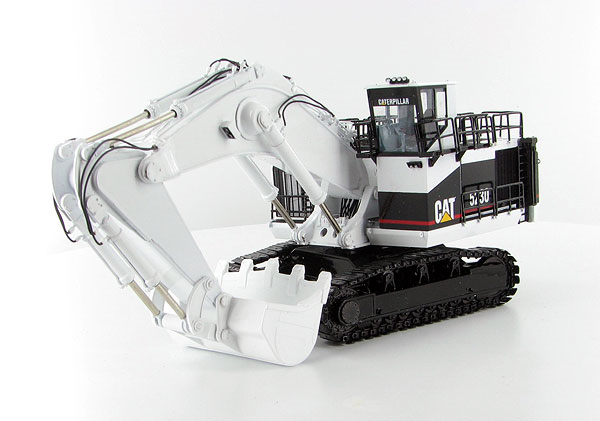 CCM CAT 5230 Excavator 1:87 BRASS MINE WHITE