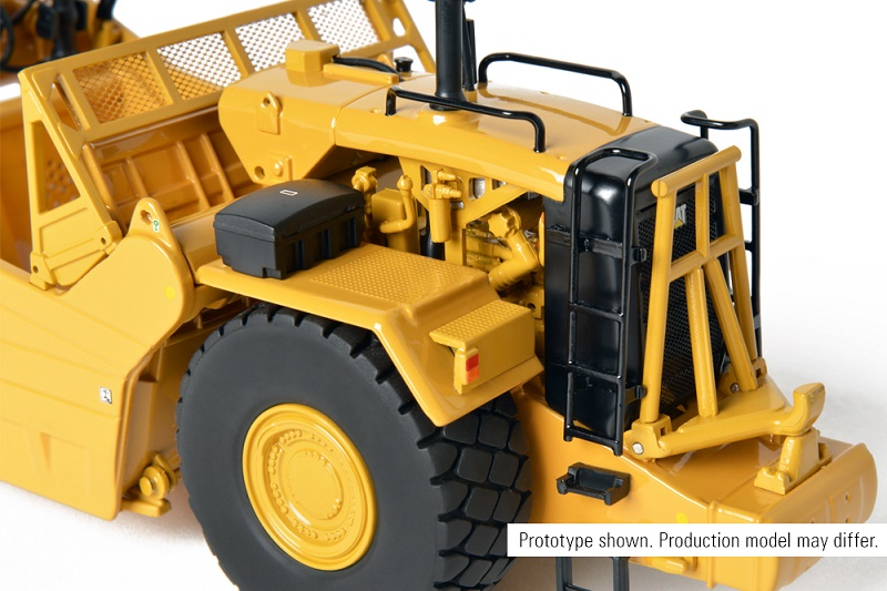:CCM CAT 637K Wheel Tractor-Scraper 1:48