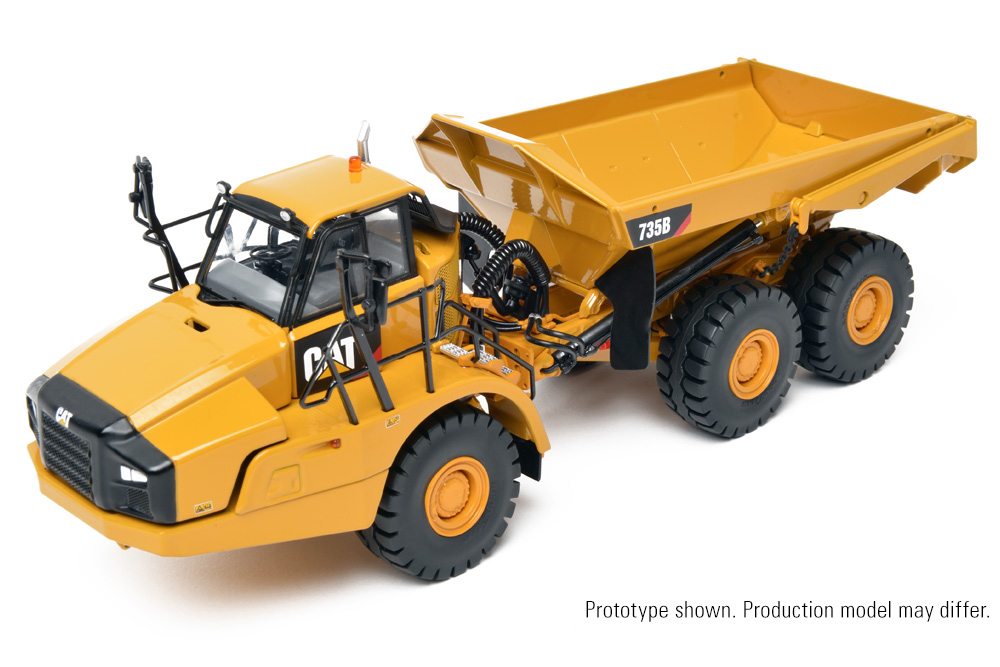 CCM CAT 735B Articulated Dump Truck 1:48