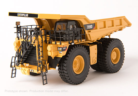 CCM CAT 789D Mining Truck - Cat Yellow / Brass 1:87