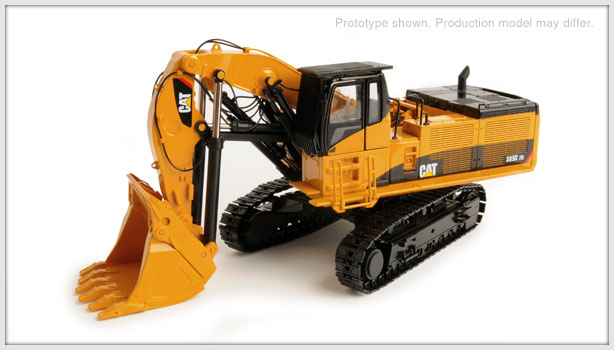 CCM CAT 385C FS Front Shovel 1:48