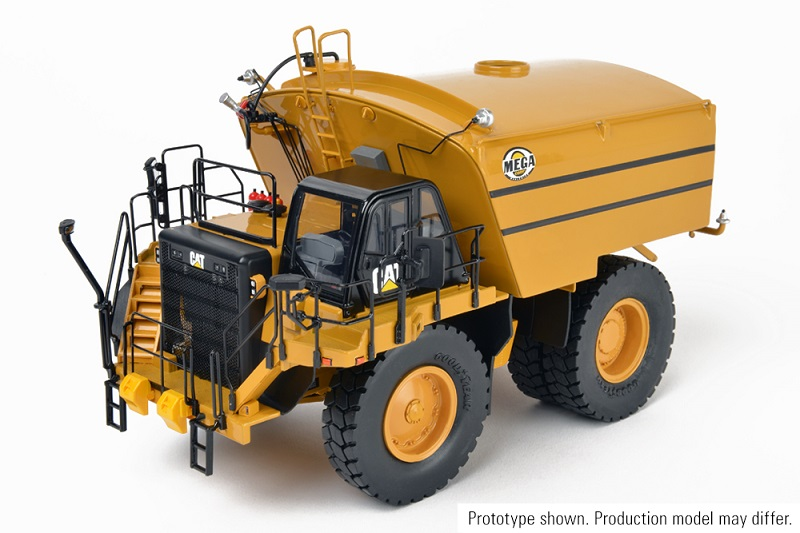 CCM CAT 777G Water Truck with MEGA MTT20 1:48