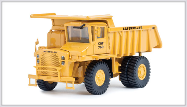 CCM Cat 769 Rear Dump Truck 1:48