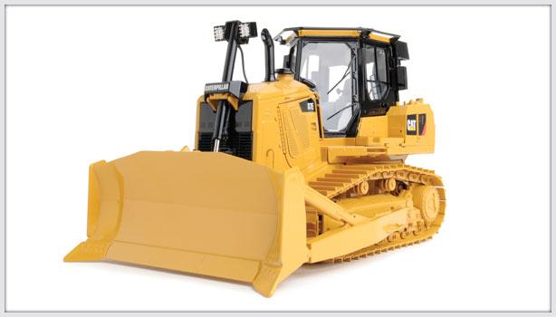 CCM Cat D7E Track-Type Tractor Dozer 1:24