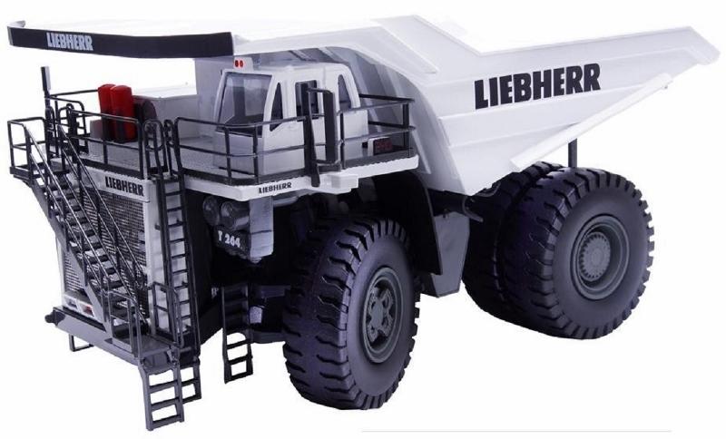 Conrad Liebherr T264 Dump Truck White 1:50