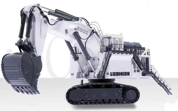 Conrad Liebherr R 9800 Mining Excavator 1:50