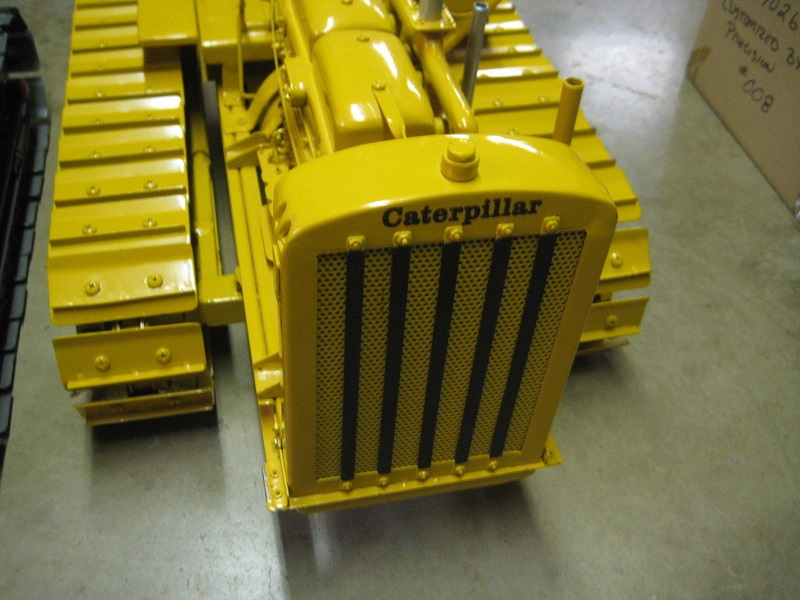 Don Campbell Cat SIXTY Crawler Tractor Yellow